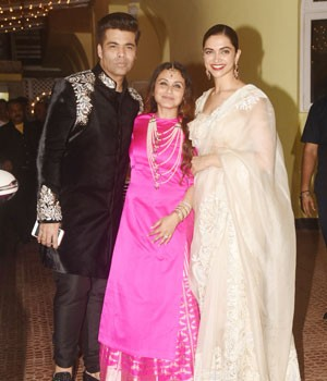 PHOTOS: Deepika Padukone to Karan Johar, celebs attend Rani Mukerji's private Diwali bash