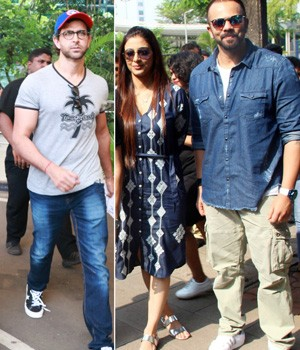 PHOTOS: Hrithik-Sussanne and kids return from Goa, Tabu-Rohit promote Golmaal Again