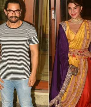 PHOTOS: Aamir, Salman, Jacqueline steal the show at Sanjay Dutt's Diwali bash
