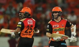 Kane Williamson and Shikhar Dhawan (BCCI Photo)
