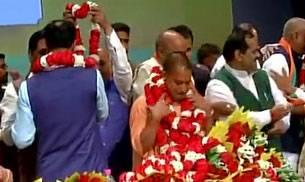 Yogi Adityanath is new UP Chief Minister; state BJP chief KP Maurya, Dinesh Sharma to be his deputies
