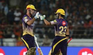 Gautam Gambhir and Chris Lynn
