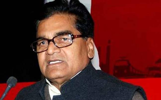Samajwadi Party leader Ram Gopal Yadav.