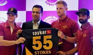 Ben Stokes (Rising Pune Supergiant Twitter Photo)