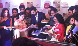 Virat Kohli unveils Comfort Food, Cafe Delhi Heights' cookbook. Photo courtesy: Instagram/cafedelhiheights